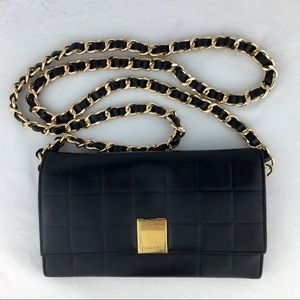 CHANEL Chocolate Bar Wallet on Chain